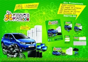 Folder Campanha Primavera Premiada Alagoas